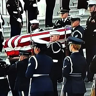 Bush Funeral Provides