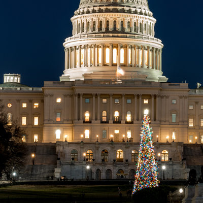 DC Christmas This Year for President Trump
