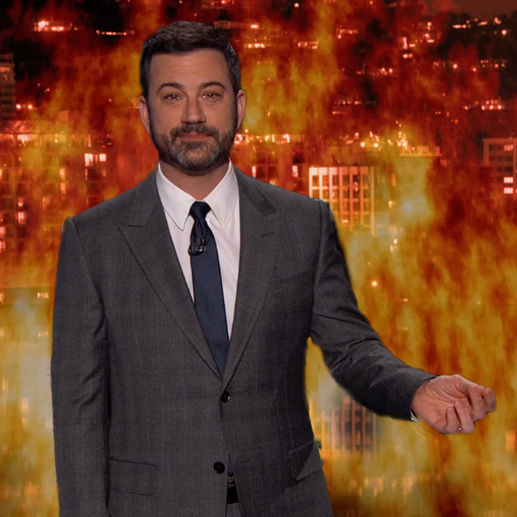 Jimmy Kimmel Mocks Wall Supporters While Sanctuary Laws Kill
