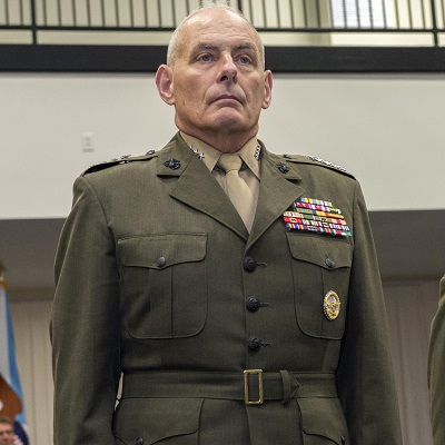Thank You for Your Service, John Kelly!