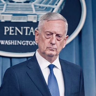 Secretary Of Defense James Mattis Has Resigned