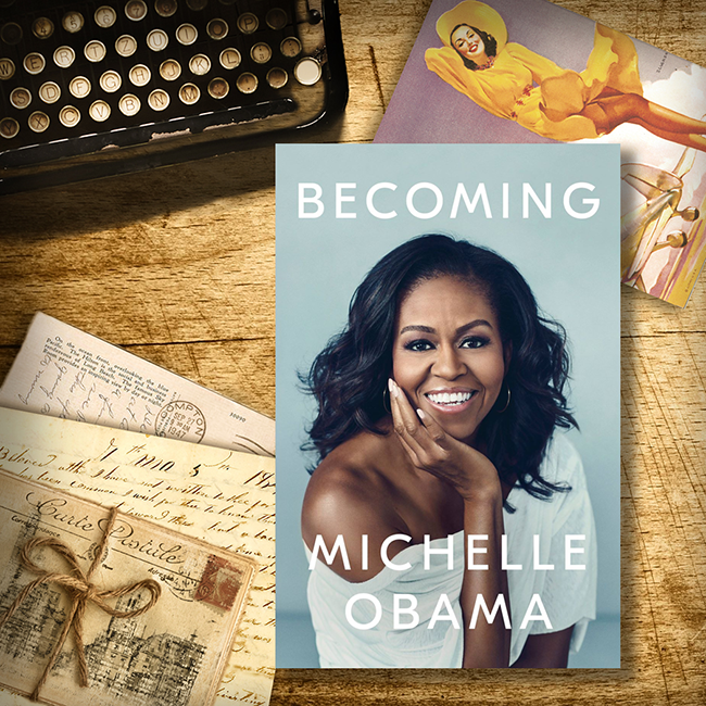 From The VG Bookshelf: Becoming By Michelle Obama Part I