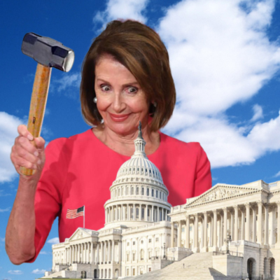 Nancy Pelosi Believes The Constitution Makes Her Equal To The President