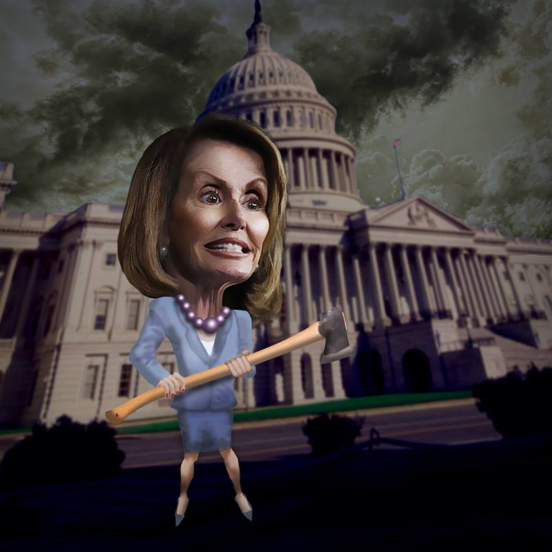 Nancy Pelosi Needs Polident Immediately