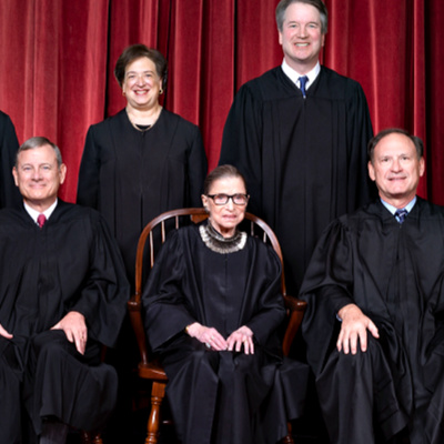 Ruth Bader Ginsburg And Her Necklace of Dissent Signals Fangirls