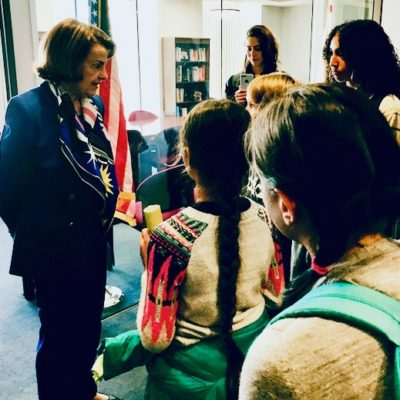 Dianne Feinstein Says No Thanks To Sunrise Movement Kids Green New Deal Push