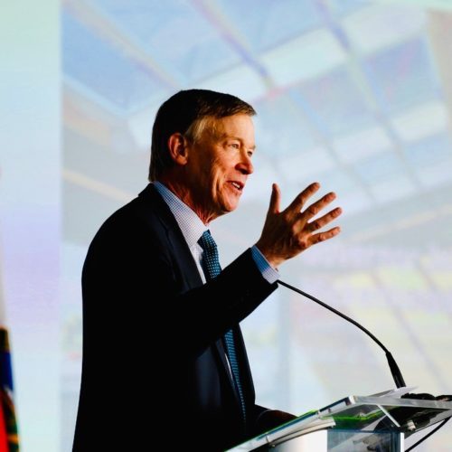 Former Colorado Gov John Hickenlooper Announces For President