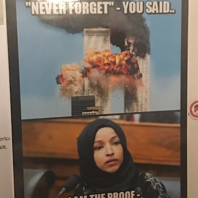 Ilhan Omar, the West Virginia GOP, and that 9/11 Poster