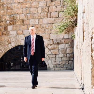 Trump Supports Golan Heights While Democrat Candidates Diss AIPAC