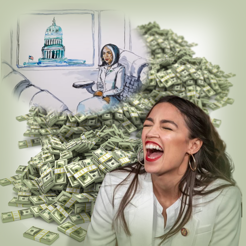 Alexandria Ocasio-Cortez's 'Back From The Future' Green New Deal Fantasy
