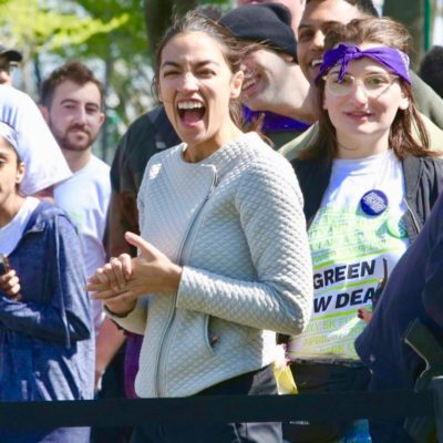 Campaign Violation: AOC Dupes Green New Deal 'Fun Run' Participants