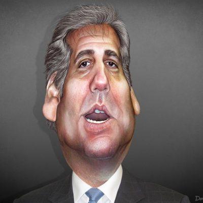 Even Behind Bars, Cohen Grasps for Relevancy
