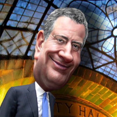De Blasio Digs Anti-Semitism Hole For Himself