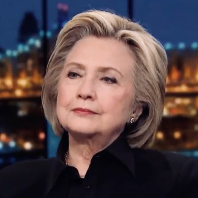 Bitter Clinger Hillary Clinton Claims 2016 Election Was 'Stolen From Her'