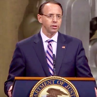 Rod Rosenstein Dunks On James Comey