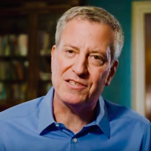 Bill De Blasio Campaign Slogan: 'Other People's Money For 2020!'