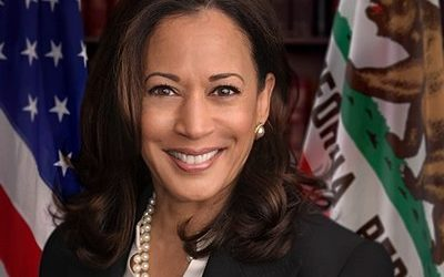 Senator Kamala Harris, official Congressional portrait, public domain