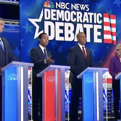 #DemDebate: Julian Castro Says Trans Women Have Abortion Rights