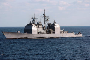 warships uss chancellorsville