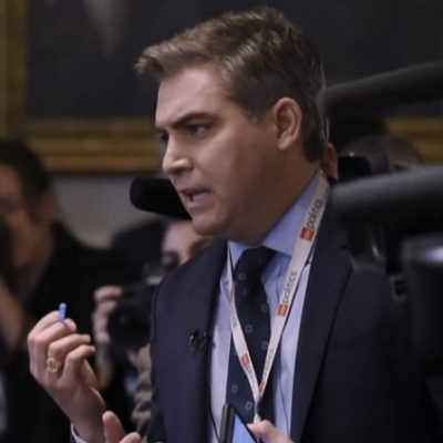 Jim Acosta Publishes His Cry For Love