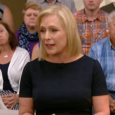 Gillibrand Strikes Out At Town Hall