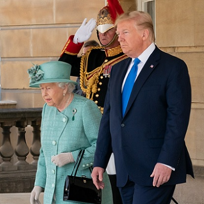 Queen Elizabeth Gives Great Gifts To The Trumps