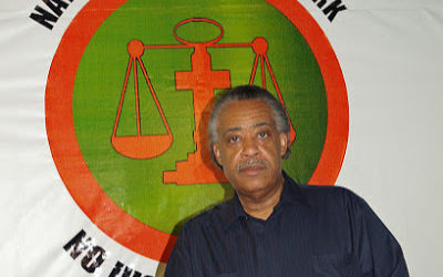 Al Sharpton the voice for all black people