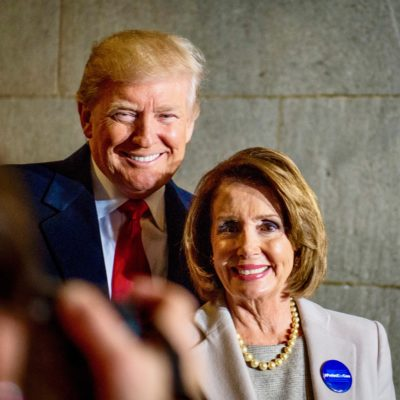 "Nancy Pelosi Says Trump Will ""Make America White Again"""