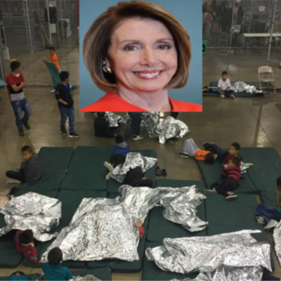 Kids Still In Cages; Nancy's Going To Africa