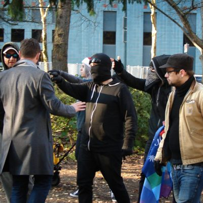 Dueling Protests in Portlandia: Keeping Things Weird