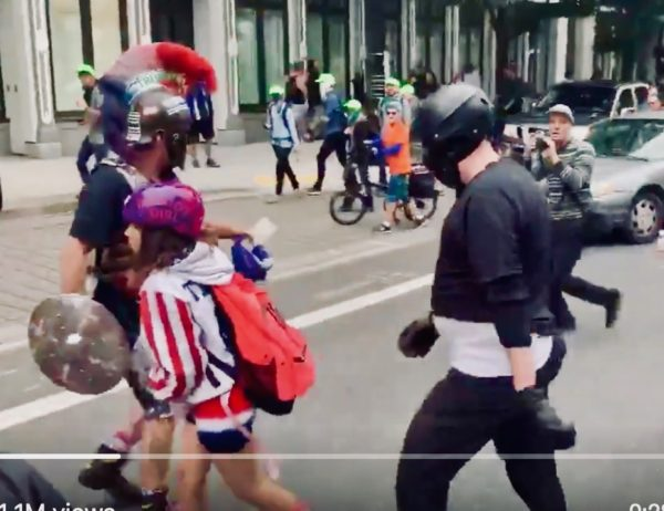 Portland Protests: The Antifa Violence Is A Feature, Not A Bug