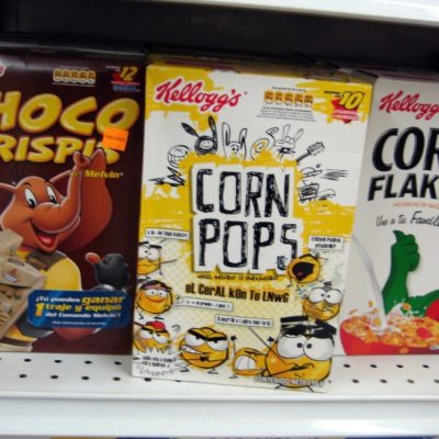 "Corn Pops In The Morning Courtesy Of ""Gangsta"" Joe"