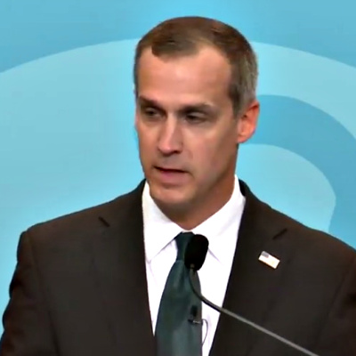 """Good Looking"" Corey Lewandowski Plays Impeachment Inquiry"