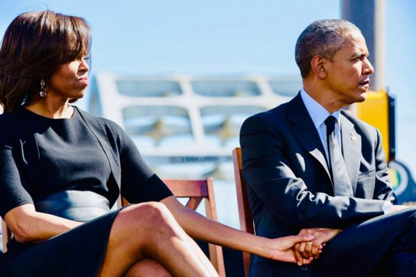 Michelle and Barack Obama Go Low In Trademark Dispute