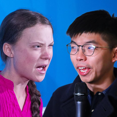 Why Greta Thunberg is No Joshua Wong