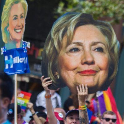 Gutsy Hillary Clinton Swoops In On Her Broom Again