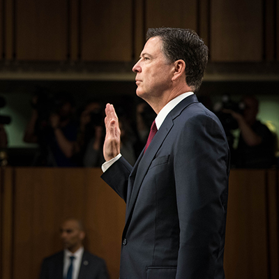 James Comey is Back and He's as Narcissistic as Ever