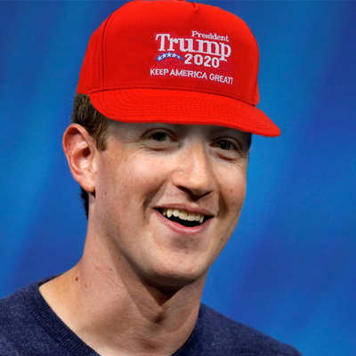 Warren Says That Zuckerberg Has Gone MAGA