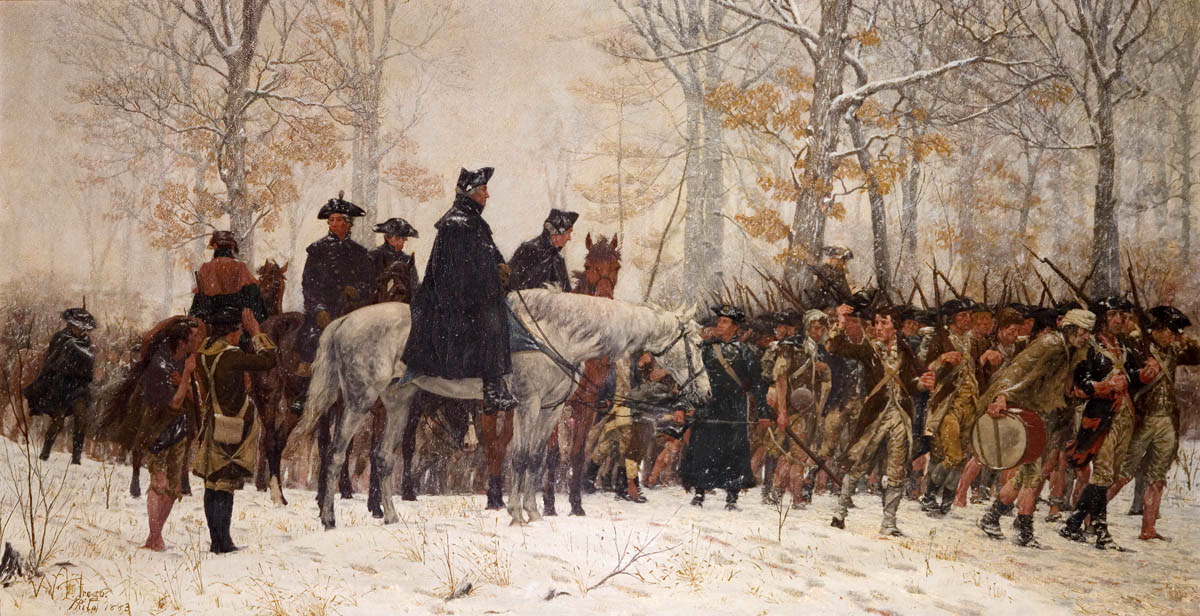 Remembering A Christmas Past:  Valley Forge