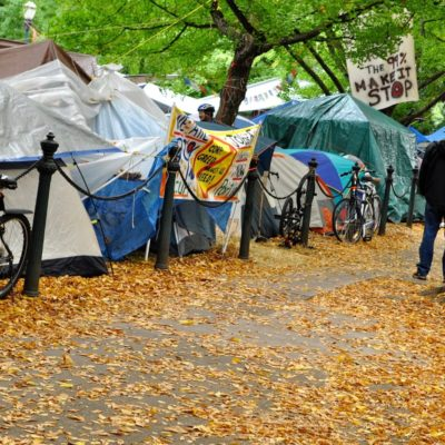 Mandatory Rest Spaces For Tents Considered On The Streets Of Portland