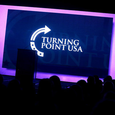 Turning Point USA Rally Ends Trump's Very Big Week