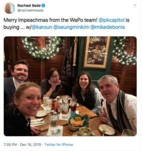 The State of Journalism: Reporters celebrate impeachment