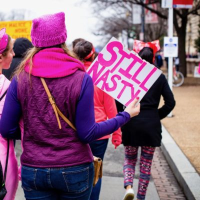 Flash Mobs For American Feminism, The Pink Hat of 2020