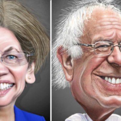 Snowflakes Take Sides in Warren and Bernie Breakup