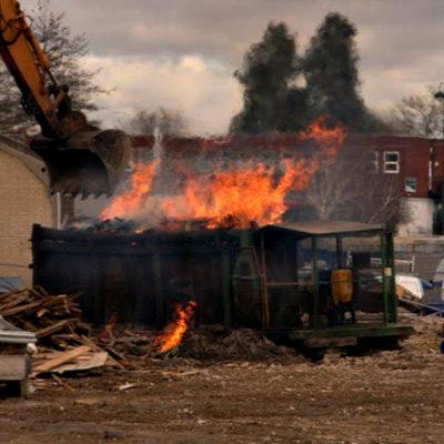 First Day Dumpster Fire