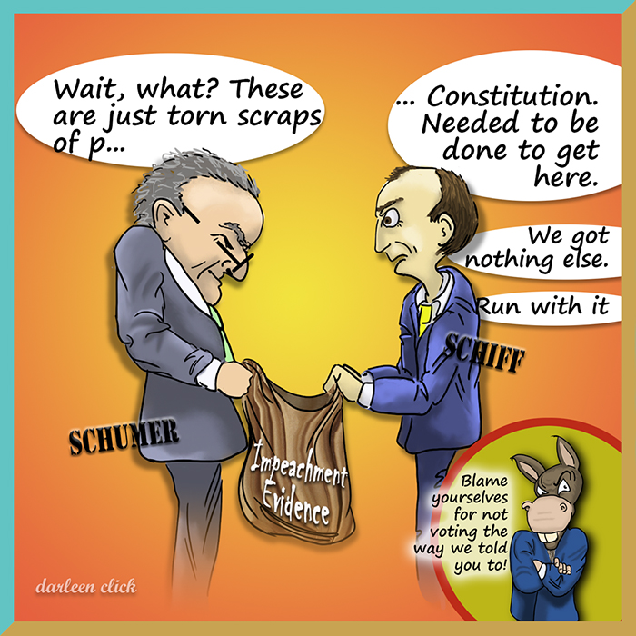 Schiff Circus Shifts to Senate, Demands Do-Over