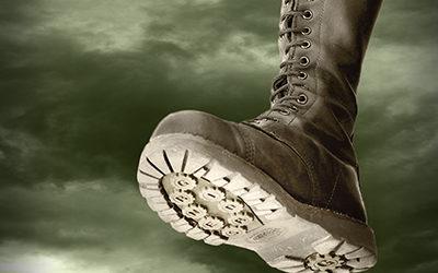 Virginia Democrats stomping boot