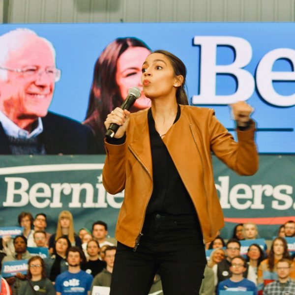 AOC Tap Dances Away From Bernie Bros Violence Question