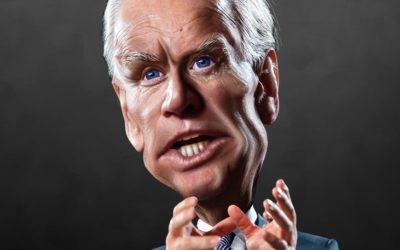 Biden caricature