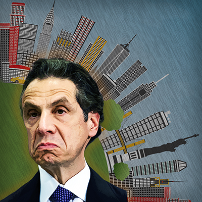 Cuomo Snipes At Press While Schools Close